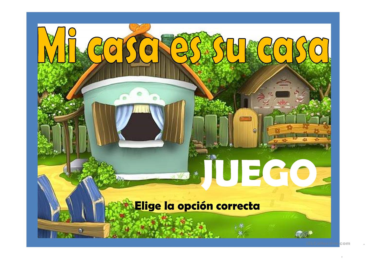 mi casa es su casa trabajos free esl projectable worksheets made by teachers. Black Bedroom Furniture Sets. Home Design Ideas